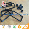 Food Grade Silicone Rubber Round O Ring / Rectangular Rubber Seal Ring