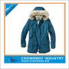 Fur Hood Warm Simple Sport Parka Jacket for Men