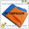 PE Tarpaulin with Welded Hem in Edges and PP Rope in Hem