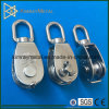 Stainless Steel Swivel Single Sheave Pulley Block