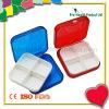 4 Compartments Small Pill Box Pill Container