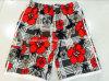 Oeko-Tex Flat Waist Polyester Striped Men Board Short Swimwear