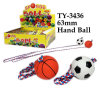 Funny 63mm Hand Ball Toy