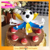 Soccer Music Birthday Party Candle