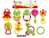 Lovely Baby Toys High Quality Plastic Animal Bell (600268)