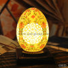 Special Chinese Ivory Color Glazed Ceramic Bedroom Lamp