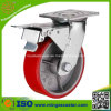 Total Brake Heavy Duty Trolley PU Tyre Wheel Caster