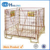 Foldable Metal Steel Warehouse Wire Cage