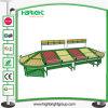Stainless Steel Supermarket Fruit and Vegetable Storage Display Rack