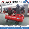 Sales to Zimbabwe W-3.5/7 Mini Piston Air Compressor with Yt28 for Gold Mining
