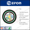 Single Mode FRP Central Strength Member Water-Blocking 12 24 36 96 144 288 Core Fiber Optical Cable (GYFTY53)
