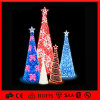 Factory Decoration PVC Garland LED Motif Christmas Tree
