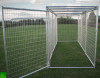 Galvanized Outdoor Temporary Fence Dog House/Dog Cage