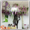 Office Ornament Wisteria Flower Artificial Wisteria Flower Tree