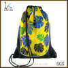 Custom Cheap Polyester Advertising Drawstring Backpack