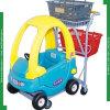 Plastic Children Shopping Trolley for Supermarket