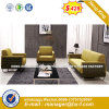 Modern Europe Design Steel Metal Leather Waiting Office Sofa (HX-S307)