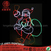 Santa Clause Snowman Motif Christmas Light for Street