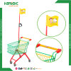 Colorful Metal Child Shopping Trolley Cart