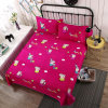 Double Bed Enlarged Size Cartoon Printing Thickened Crystal Velvet Keep Warm Bed Cover Flannel ...