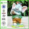 2014 Logger Elephant Statue (NF91164-2) Carrying Trunk