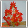 Ome Decoration Artificial Silk Cloth Maple Tree Leaves