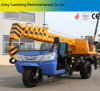 China Manufacturer 2 Ton Hydraulic Motor Tricycle Mounted Mobile Telescoped Crane for Lifting