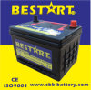 Factory Price 50ah 12V Auto Parts American Vehicle Battery Bci-58-Mf