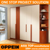 Oppein High Quality Classic Melamine Wooden Hinged Wardrobe (YG11541)