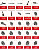 Agricultural Machine Parts Japanese Tractor Spare Parts