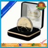 Gold Border Velvet Europe Coin Collect Box (CB02)