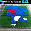 Door Mat for Floor with Artificial Grass Yarn Material