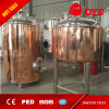 500L Red Copper Beer Brewing Equipment with Mash and Kettle