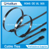 Full Epoxy Coated  304 Ss Cable Ties Self-Locked Type