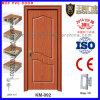 Simple Design PVC Coated Bathroom Door