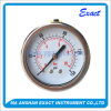 High Quality Manometer-Liquid Filled Pressure Gauge-Center Back Gauge