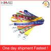 Custom Lanyard Silk Screen Printing Tube Polyester Lanyard Fabric