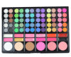 78 Color Cosmetic Palette Lip Cream Blush Concealer Makeup Eyeshadow Palette with Brush