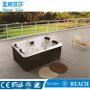 2.1 Meters Cloud White Acrylic Outdoor Rectangle Hot Tubs M-3332
