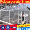 10mm Twin-Wall 100% Vigin Bayer Materials Roofing Sheet