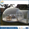 2016 Camping Clear Transparent Inflatable Bubble Tent with Tunnel for Sale