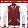 Wholesale Blank Plain Custom Cotton Baseball Jacket Men (ELTBQJ-547)