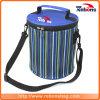 New Arrival Contrast Color Lunch Wine Bottle Gel Cooler Bags Large Thermal Insulatd Cooler Bag for Men