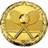 Metal Craft Stamping Tennis Gold Medal