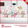 Wholesale Lovely Custom Square Carton Cushion Decorative Cotton Pillow