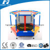 Colourful Mini Trampoline with Safety Net for Kids