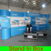 Custom Portable Easy Assembly Removable Transport Display Booth with Multiply Laminates