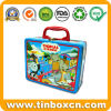 Handle Lunch Tin for Gift Tin Box Packaging, Metal Lunch Container