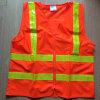 Hot Selling Orange LED Flashing OEM Reflective Tape Reflective Vest