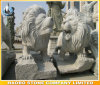 Granite Asian Guard Lions